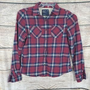 American Eagle Outfitters Flannel Womens Size 6